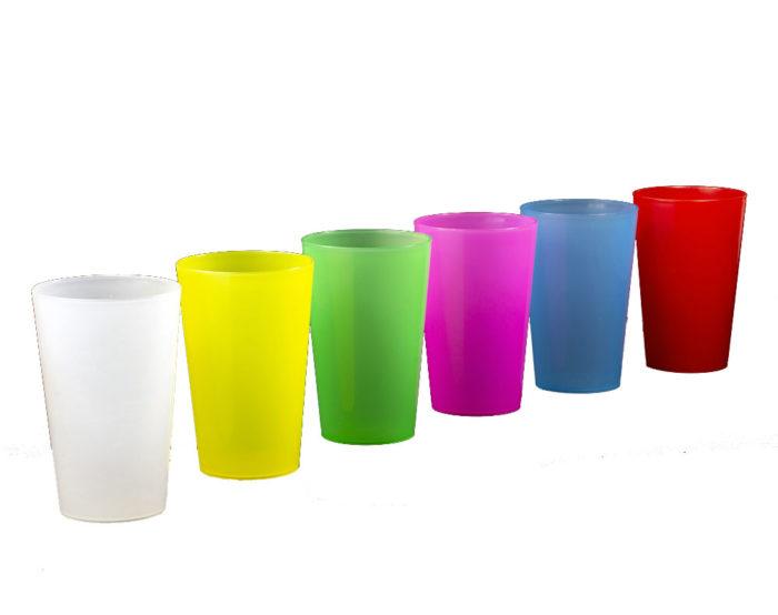 Vaso de plástico para niños